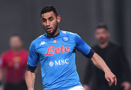 Ghoulam se blesse
